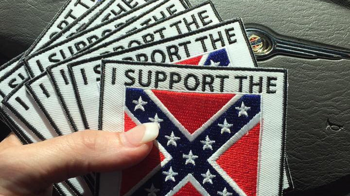 Virginia Flaggers Supporters patch