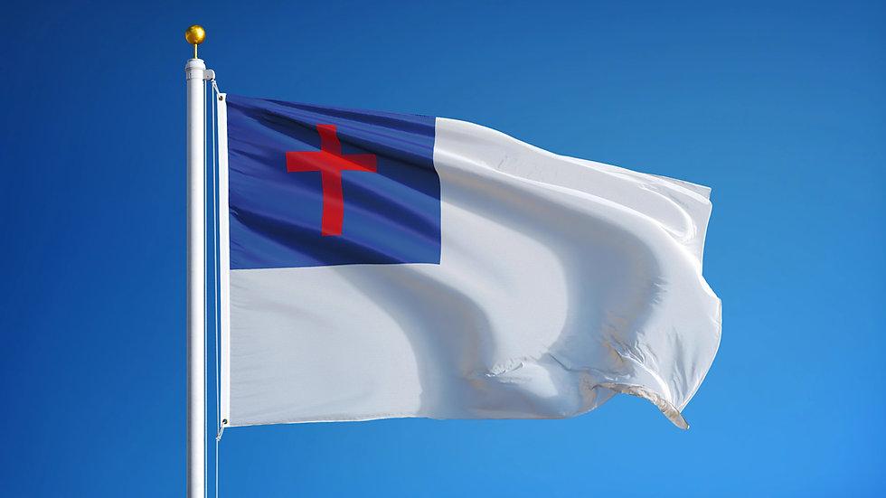 Christian Flag - 3' x 5' FREE SHIPPING