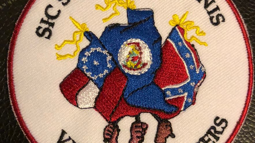 Virginia Flaggers Logo Patch