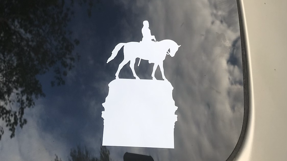 LEE Monument Window Decal