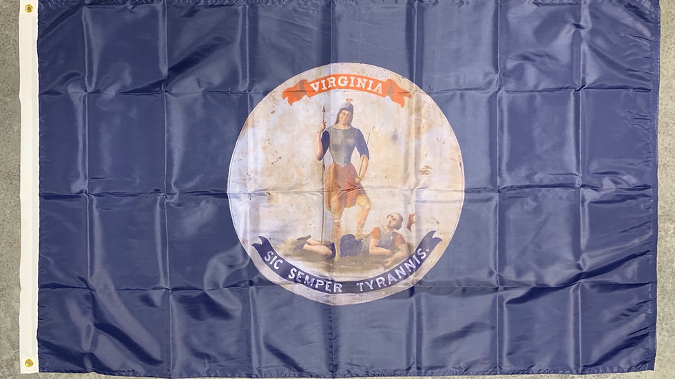 3' x 5' Unreconstructed Virginia State Flag