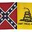 Thumbnail: Gadsen/Battle Flag  Combo Flag/Sticker  *FREE SHIPPING