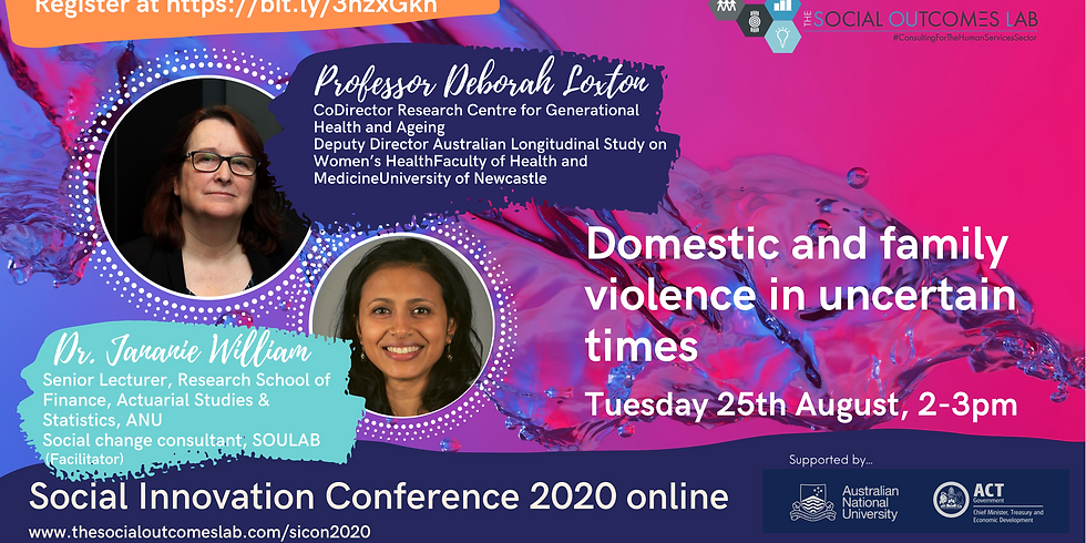 Domestic and family violence in uncertain times