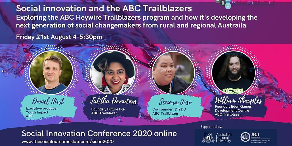 Social Innovation and the ABC Trailblazers