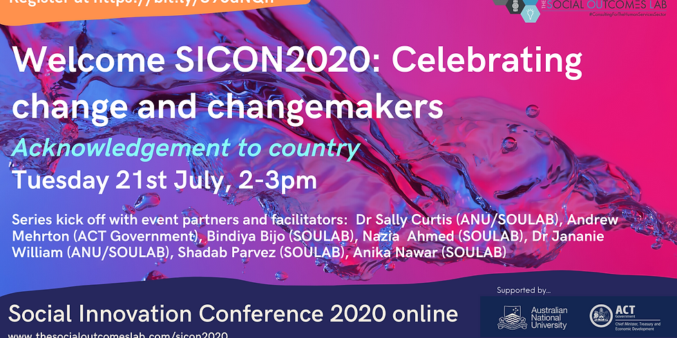 Welcome SICON2020