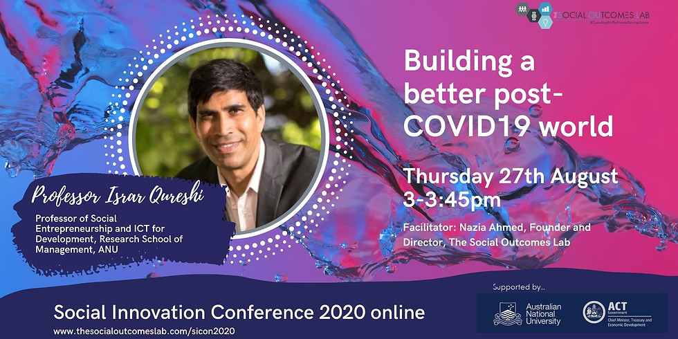 Building a Better Post COVID-19 World