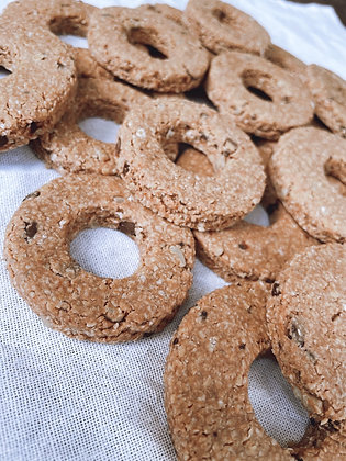 Carob Chip Donuts