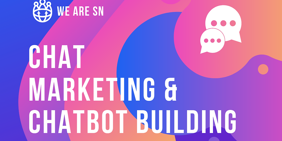 [Beginners] Chat Marketing & Chatbot Building