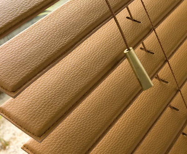 Origin Blinds Leather Blinds