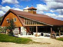 Remodelled wedding barn built in 1873