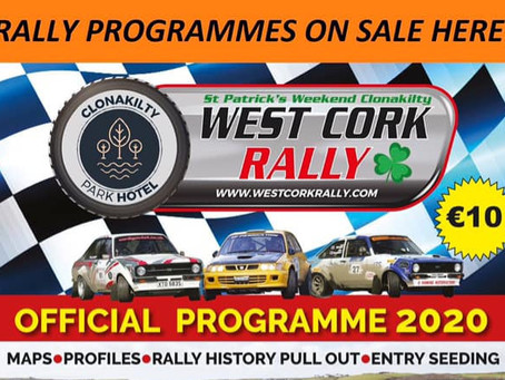 Rally Programmes Now Available!