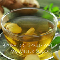 Ayurvedic Winter Spiced Water
