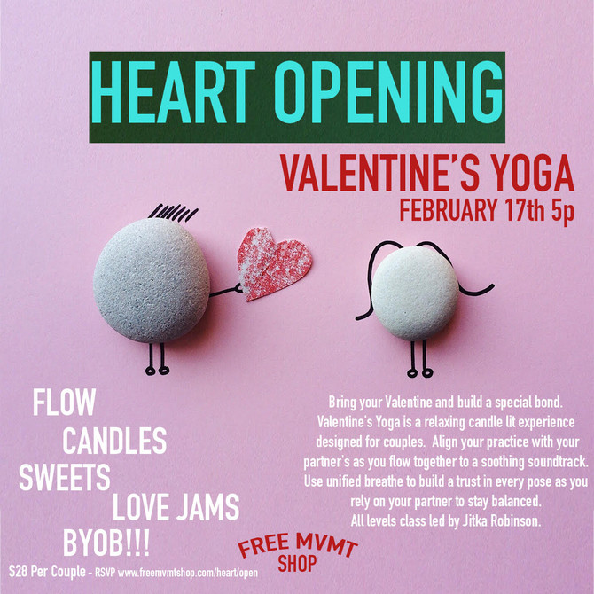 Valentine's Heart-opening Yoga