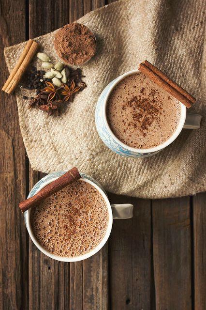 Energy Fall Ayurvedic Ashwagandha Turmeric Drink Hot Cocoa
