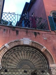 Verona - het balkon