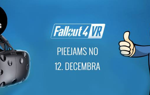 Fallout 4 VR release