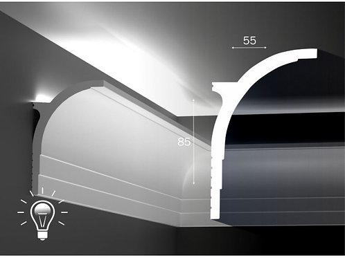 К45 Карниз для скрытой подсветки