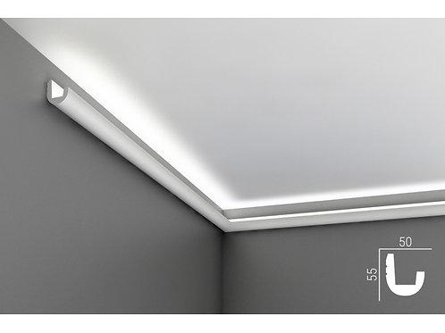 К24 Карниз для скрытой подсветки