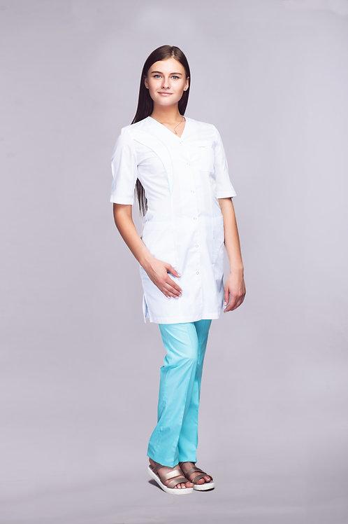Медицинский костюм-френч Лаванда