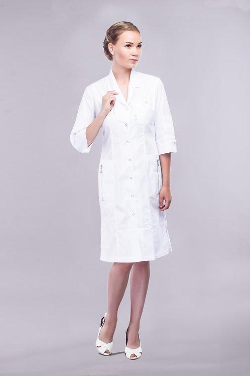 Медицинский халат Дарья