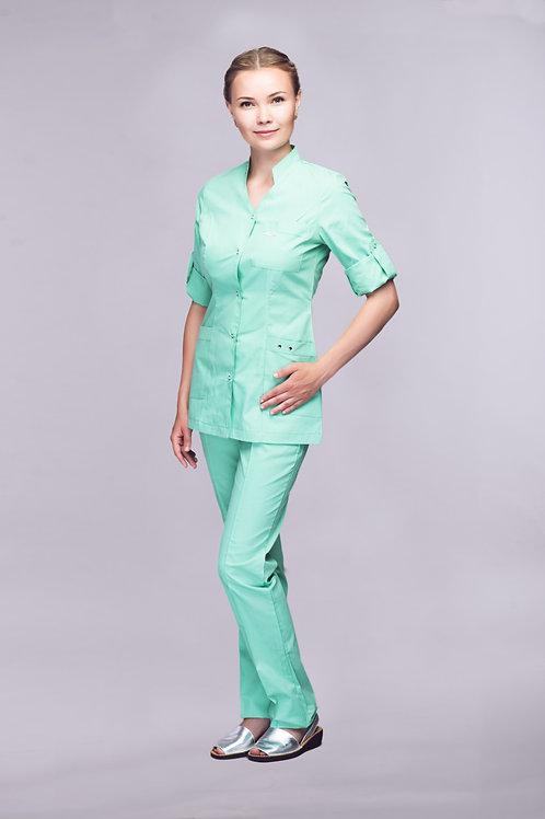 Медицинский костюм Лайм