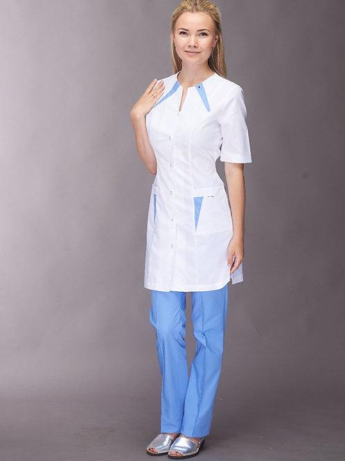Медицинский костюм-френч Мария