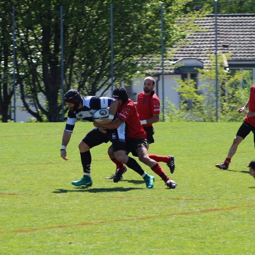 LNB 2016/2017 Fribourg 17-0 Alba