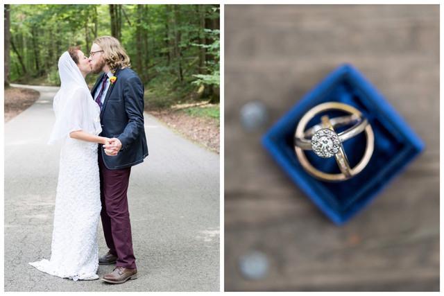 Molly & Jesse || Kanawha State Forrest Wedding