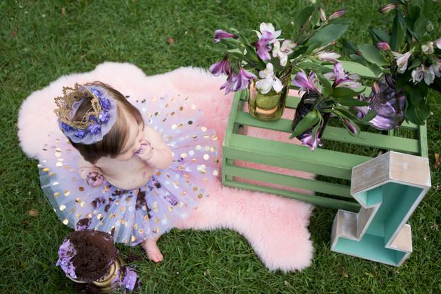 Pretty in Purple || WV Child Photography
