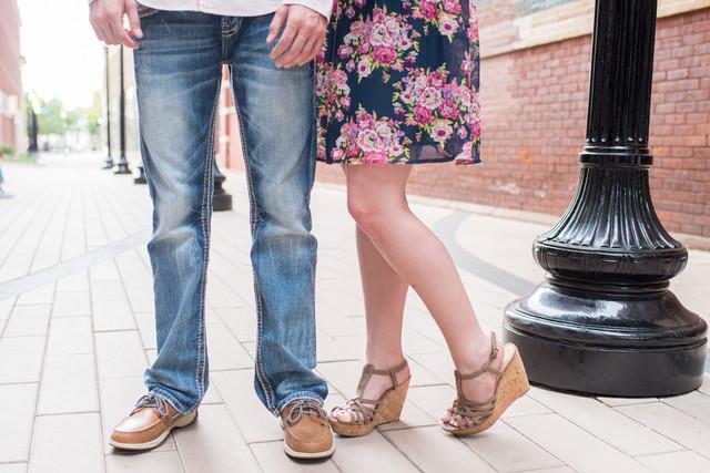 Noah & Katelyn|| Downtown CharlestonEngagement || West Virginia Wedding Photographer