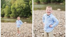 Adam || River Portraits || WV Family Photographer