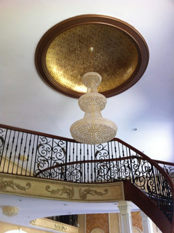 Gold Foil Dome