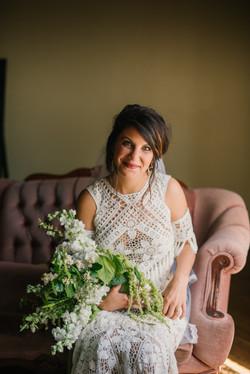 Bohemian Bride's Bouquet