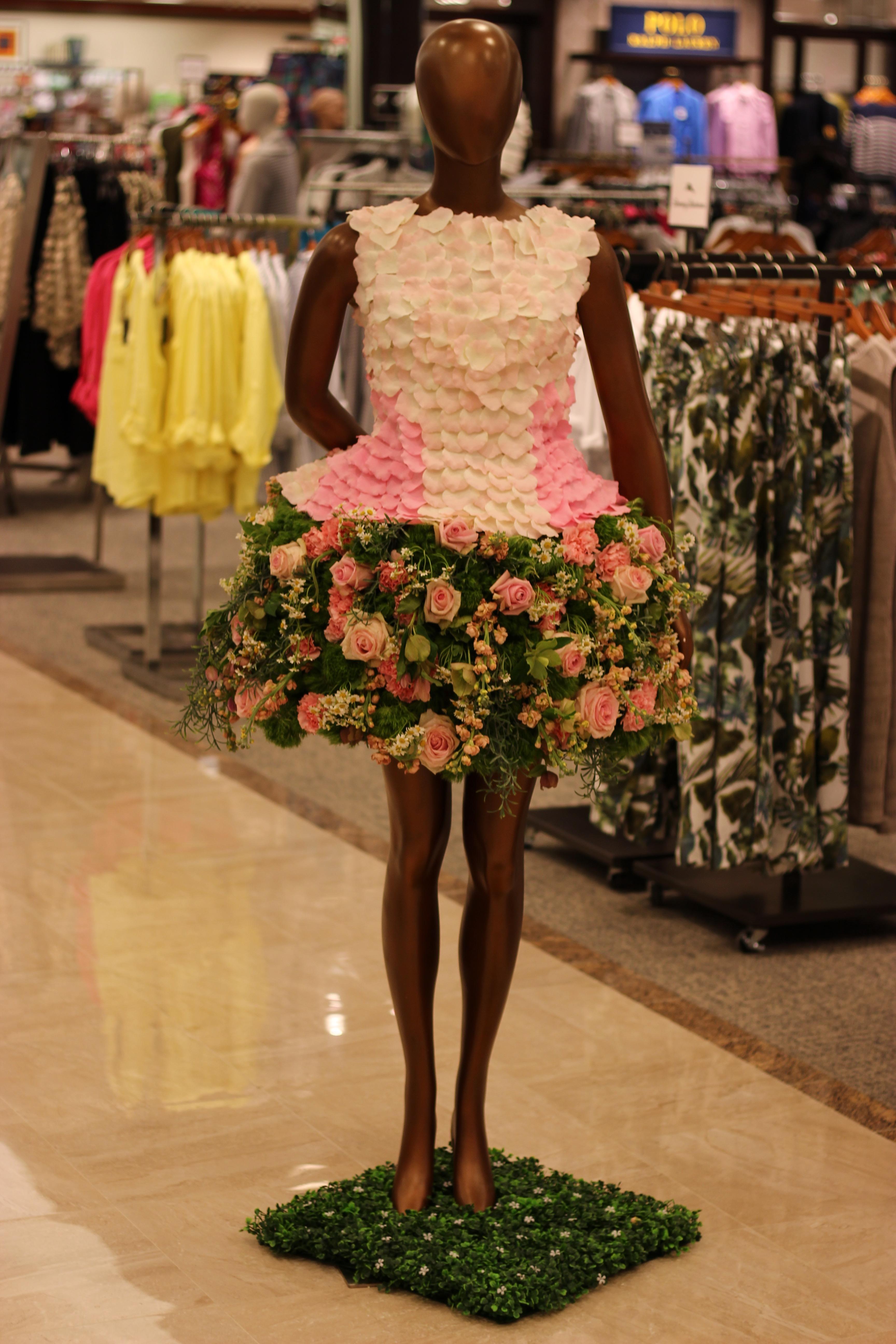 Dillard's Grand Opening Floral Dress