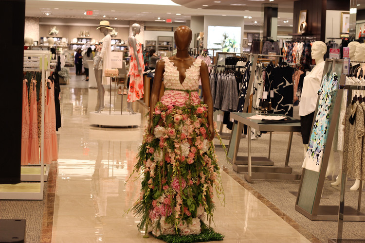 Grand Opening Floral Dress