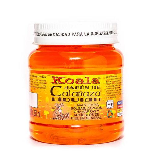 Jabón de Calabaza Líquido Tarro 250 ml.