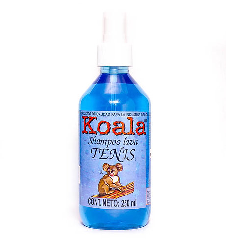 Koala Shampoo Lava Tenis B. Atomizador 250 ml.