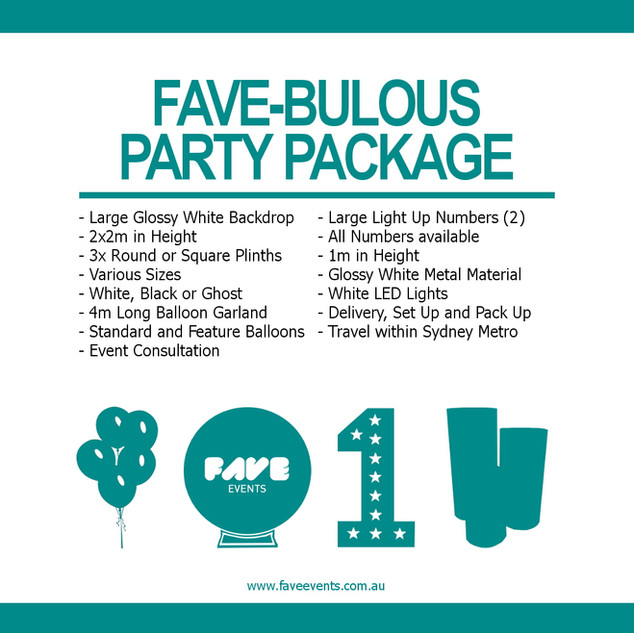 Fave Package - Fave-Bulous 2020