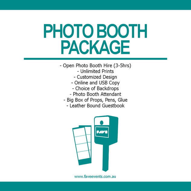 Fave Package - Photo Booth 2020