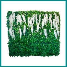 Fave Props - Hanging White Wysteria Gree