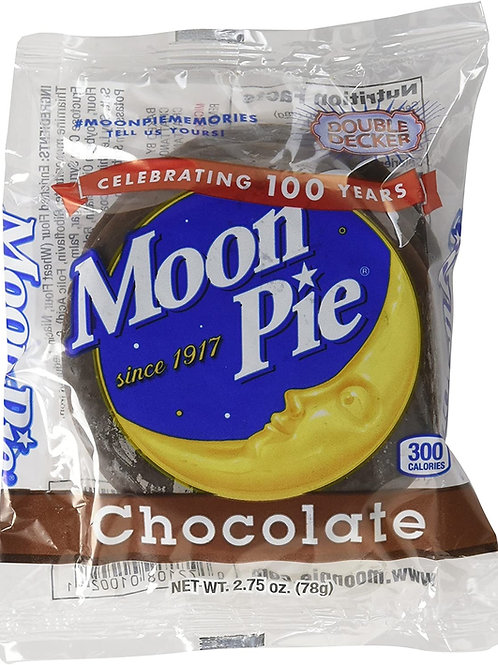 Double decker Moon Pies chocolate