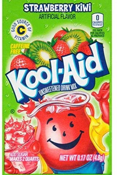 Kool-Aid. Straw/Kiwi 2quart unsweetened