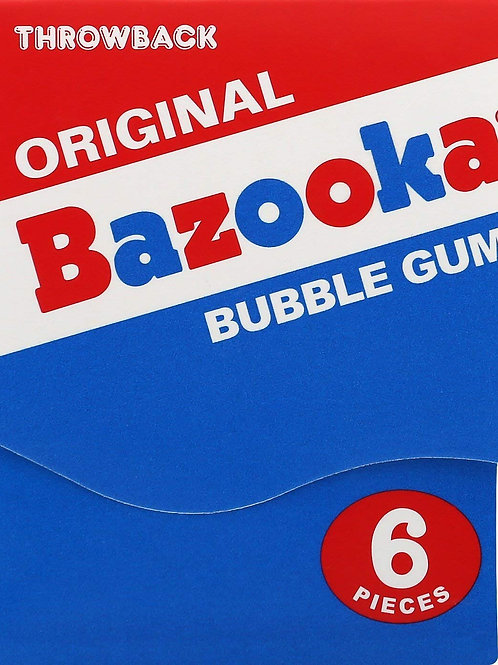 Bazooka Throwback Wallet Gum