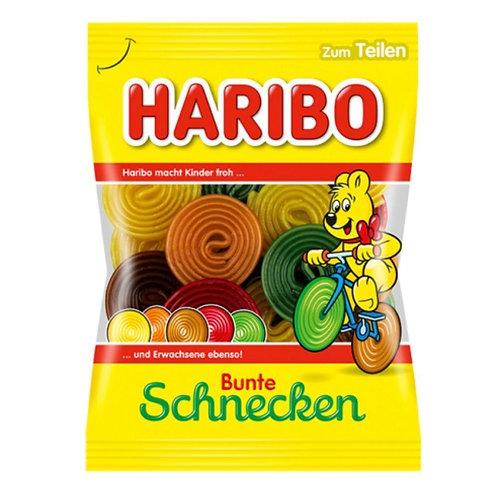 Haribo Licorice Bunte Schnecken