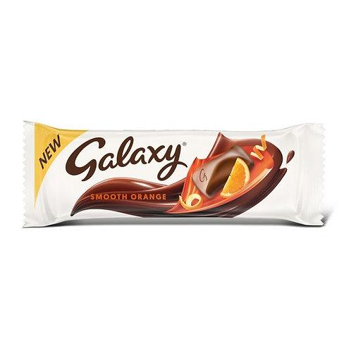 Smooth orange galaxy bar