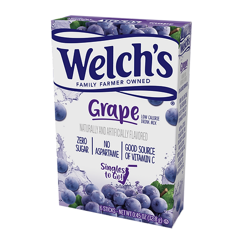 Singles To Go Grape Welchs