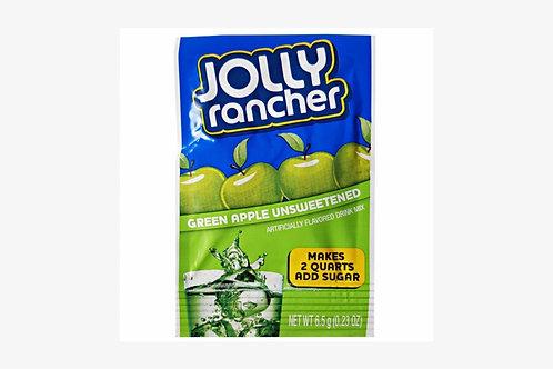 Jolly Rancher Green Apple 2quart drink crystals