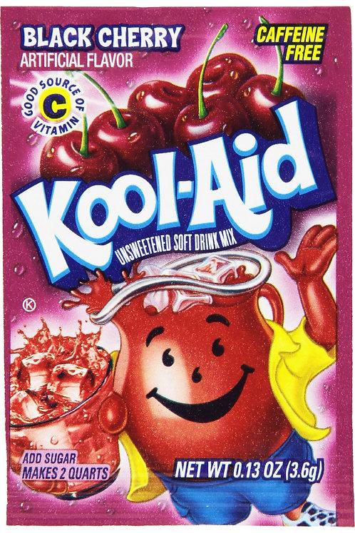 Kool-Aid. Black Cherry 2quart unsweetened