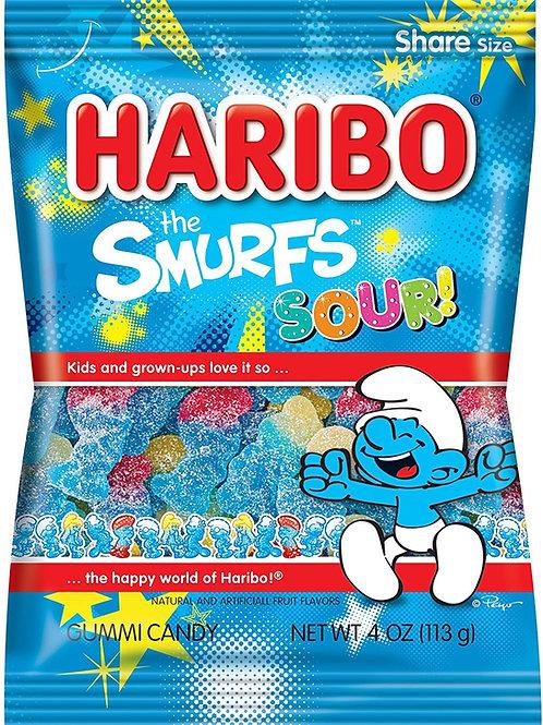 Haribo Hang Bags Sour Smurfs
