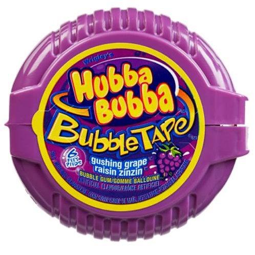 Hubba Bubba Grape Bubble Tape